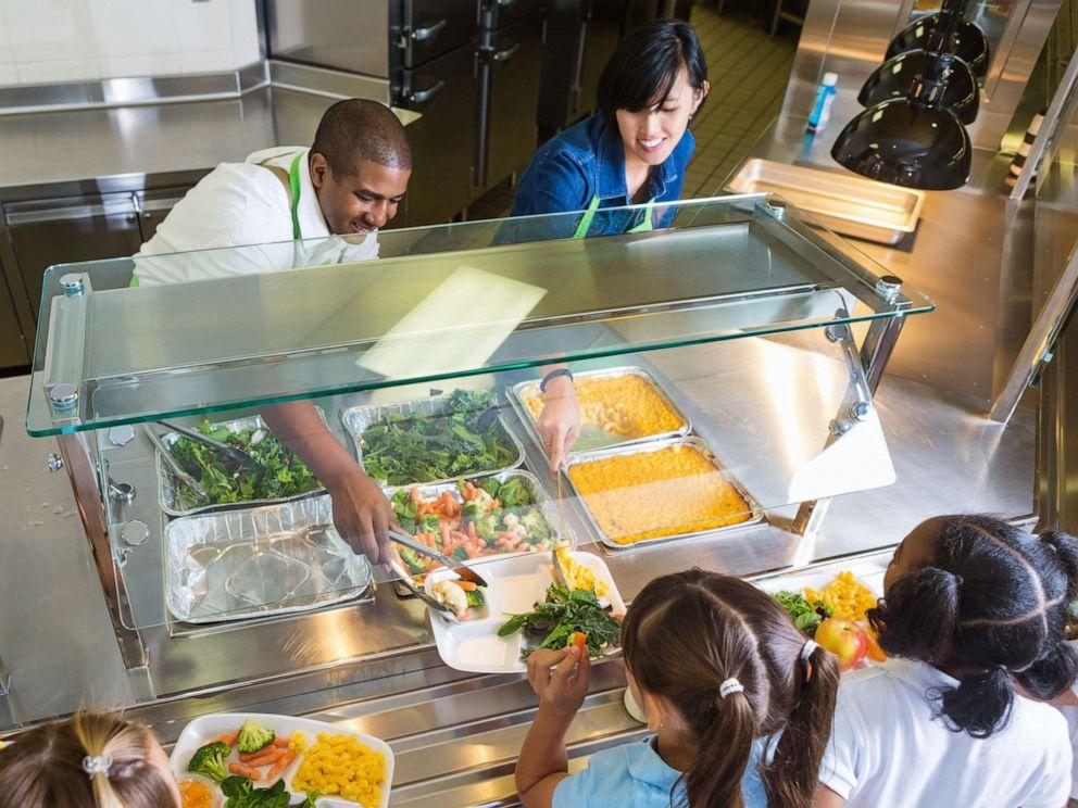 School Lunch Line