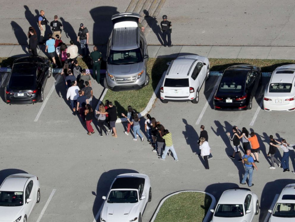 SLIDESHOW: The Marjory Stoneman Douglas High School shooting and aftermath