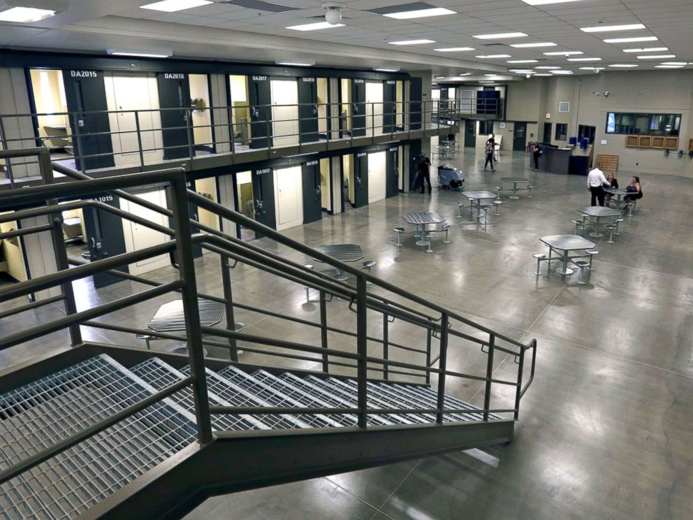 PHOTO: A housing unit is pictured in the west section of the State Correctional Institution at Phoenix in Collegeville, Pa., June 1, 2018.