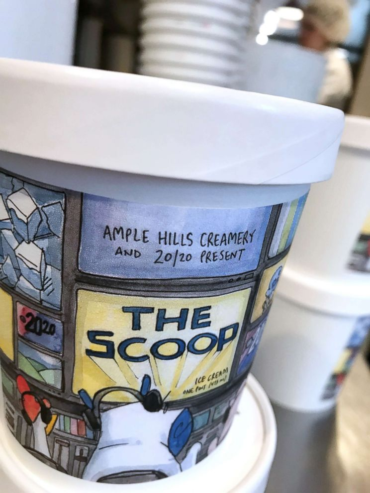 PHOTO: Ample Hills Creamery is helping ABC News 20/20 celebrate its anniversary with ice cream.