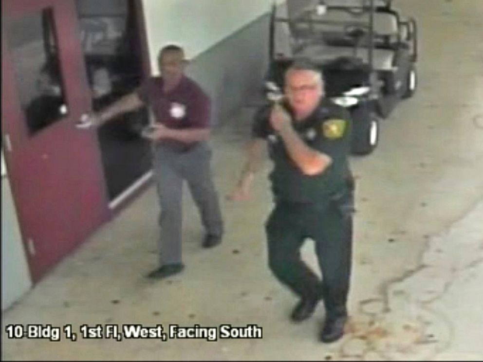 Parkland teacher faces charge after his gun is fired in public bathroom