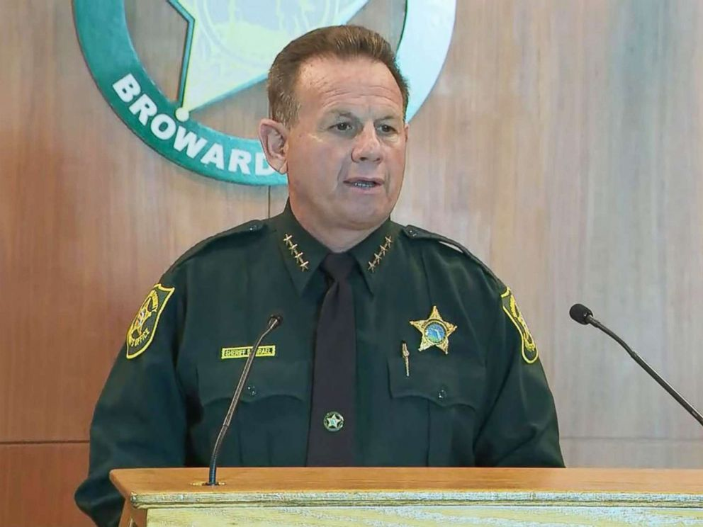 PHOTO: Broward County Sheriff Scott Israel addresses a press conference on Feb. 22, 2018.
