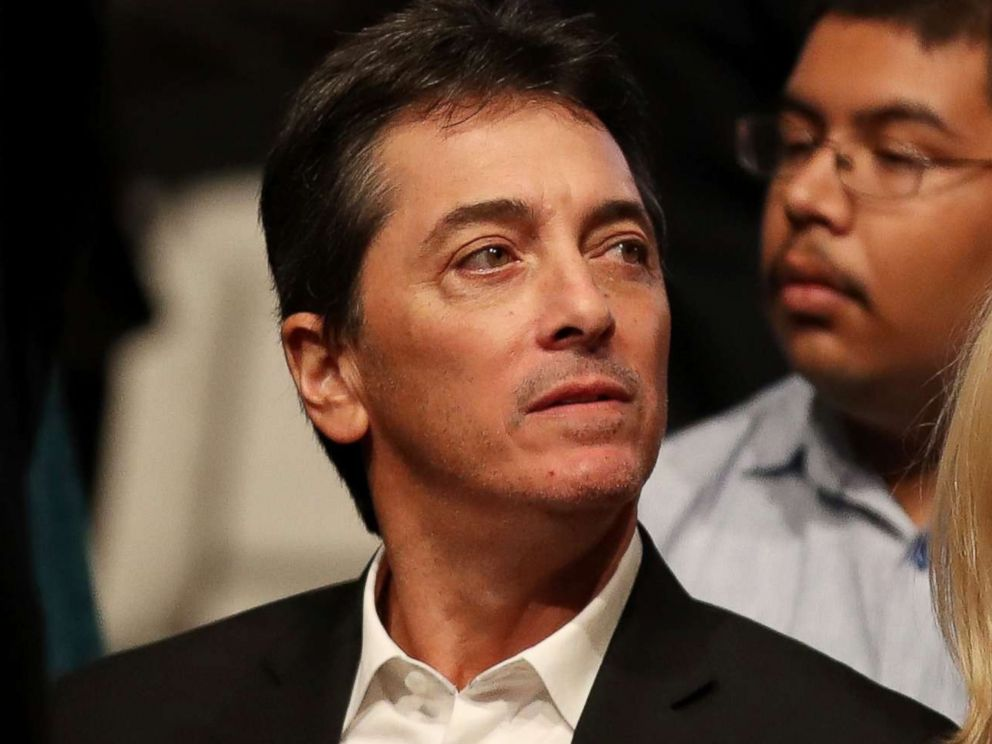 PHOTO: Scott Baio waits for the start of the third U.S. presidential debate at the Thomas & Mack Center, Oct. 19, 2016 in Las Vegas.