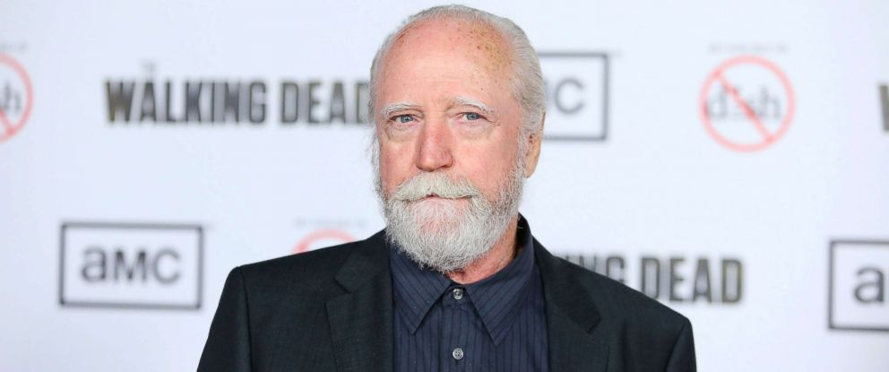 "PHOTO: Scott Wilson arrives at AMCs ""The Walking Dead"" season 3 premiere held at Universal CityWalk in Universal City, Calif., Oct. 4, 2012."