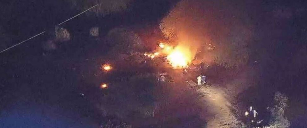 Six people were killed in a plane crash in Scottsdale, Arizona, on Monday, April 9, 2018.