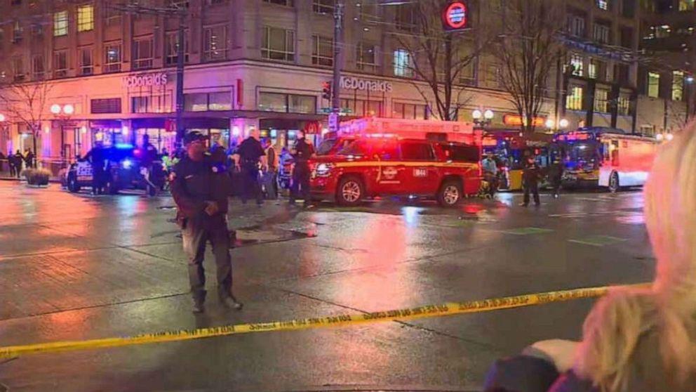 1、5その他危険な状態に撮影されたシアトル:警察