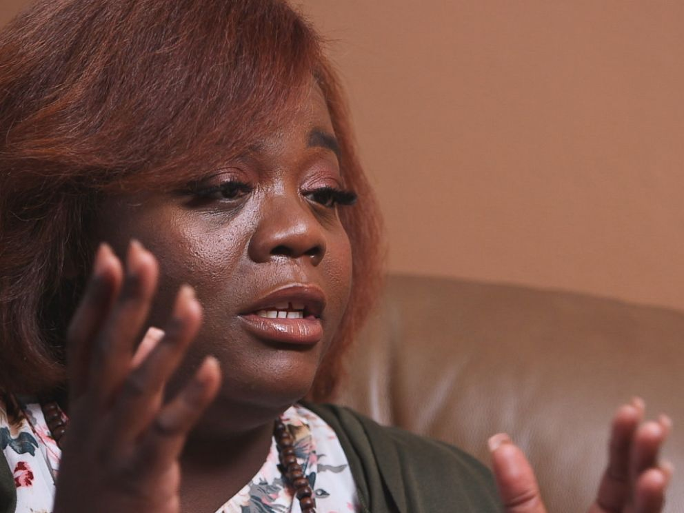PHOTO: Khristen Sellers spoke with Nightline about the sexual harassment she faced by a man who had the power to evict her and her children from their home.