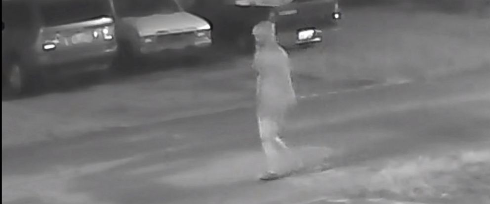 PHOTO: Tampa Police released video of an individual that they say was seen walking in the area where Benjamin Mitchell was shot on Oct. 9, 2017 in the Seminole Heights neighborhood of Tampa, Fla.
