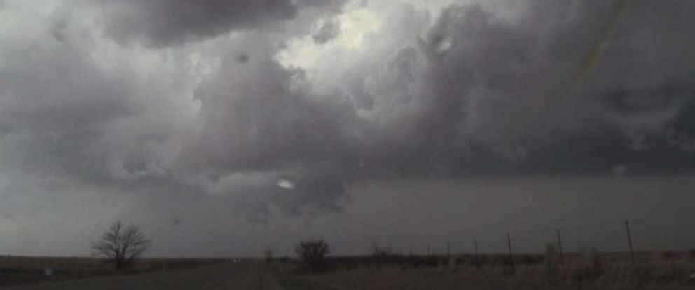 Severe storms crossed through Oklahoma on Sunday evening and into Monday.