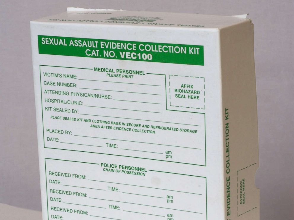 PHOTO: A stock photo of a sexual assault evidence collection kit.