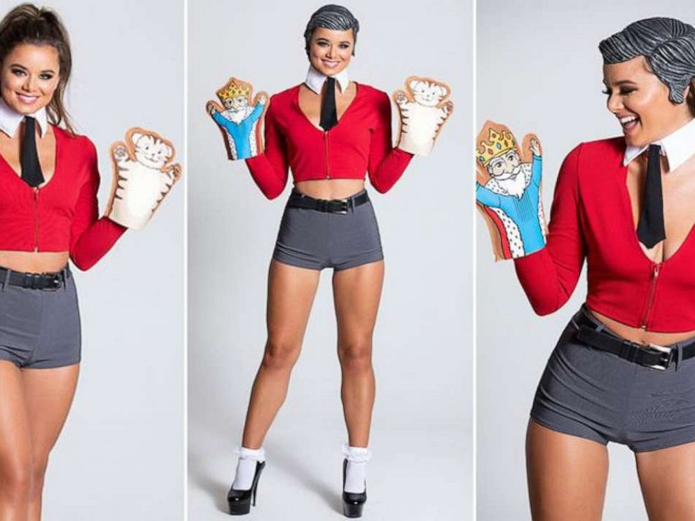 PHOTO: A model is wearing Yandys Sexy Mr. Rogers costume.
