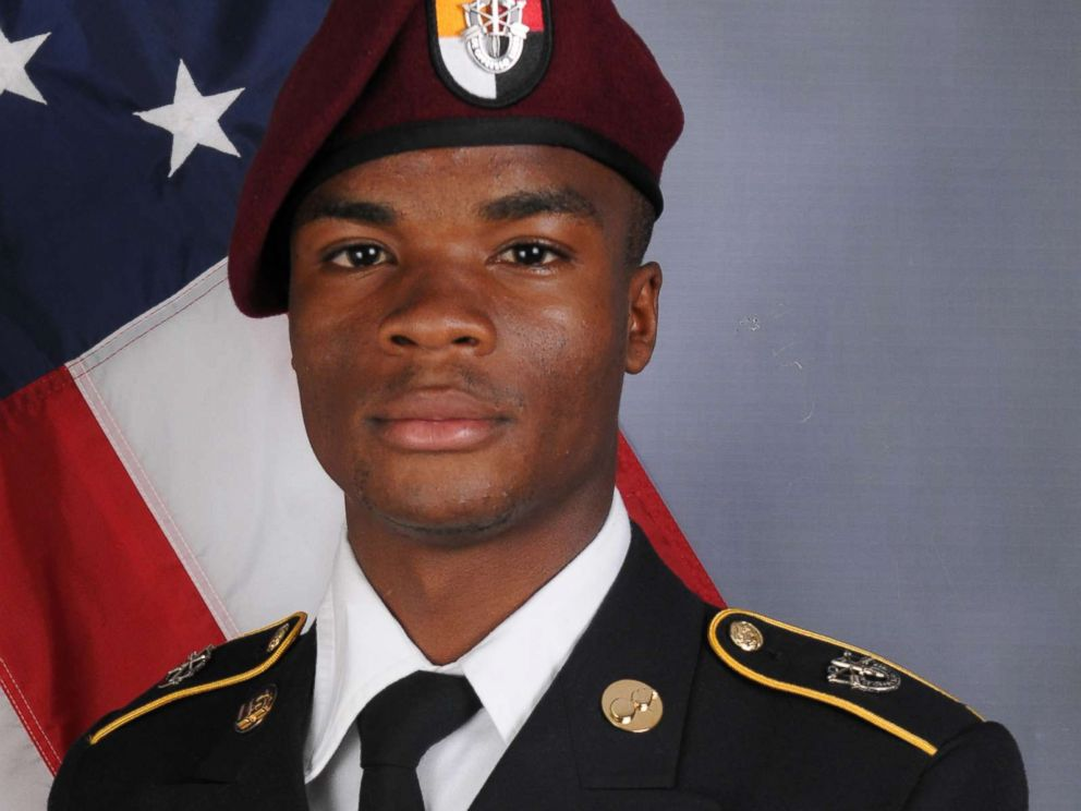 PHOTO: Sgt. La David Johnson, 25, died from wounds sustained during enemy contact. He was assigned to 3rd Special Forces Group (Airborne) on Fort Bragg.