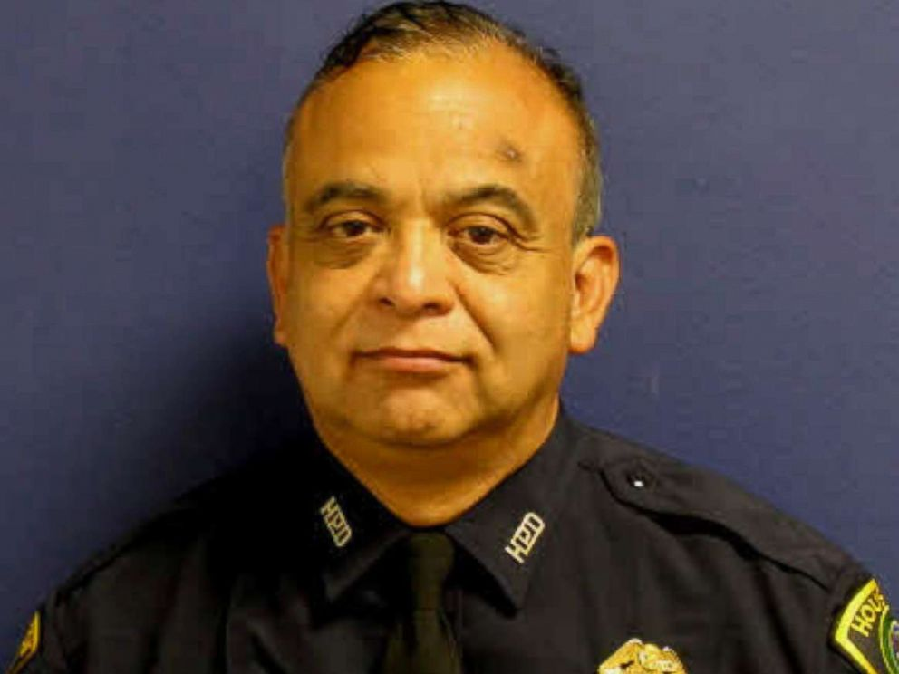 PHOTO: Sgt. Steve Perez, 60, pictured, drowned in floodwaters on his way to work, Houston Police Chief Ace Acevedo said at a press conference, Aug. 29, 2017.