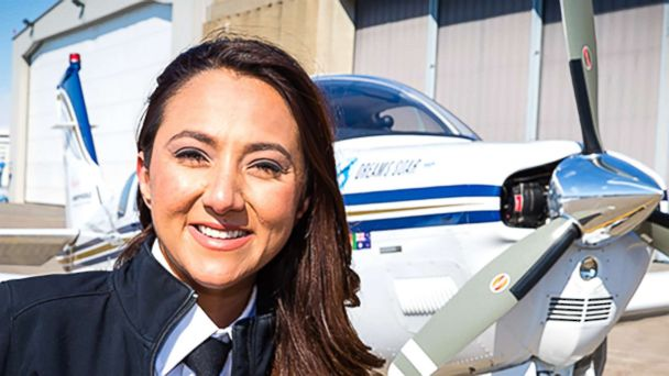 Afghan refugee completes record-breaking solo round-the-world flight