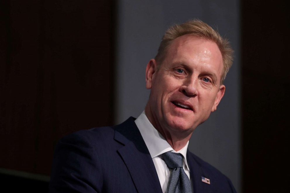 PHOTO: Acting Secretary of Defense Patrick Shanahan speaks at a Strategic National Security Space: FY2020 Budget and Policy Forum, hosted by the Center for Strategic and International Studies (CSIS), in Washington D.C., March 20, 2019.