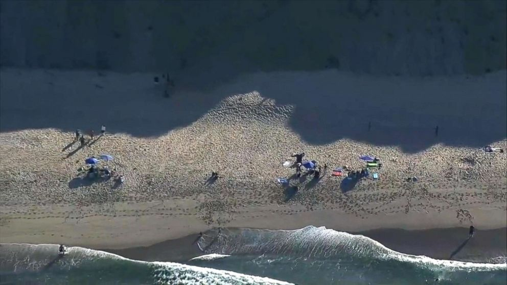 PHOTO: Authorities are investigating a possible shark attack at Longnook Beach in Truro, Massachusetts, on the Cape Cod coast.