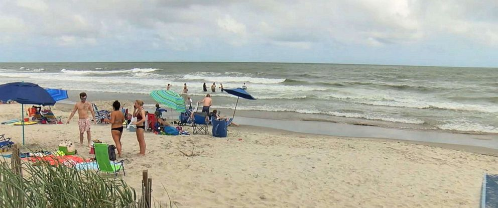 PHOTO: A 19-year-old surfer suffered from a suspected shark bite off Ocean Isle Beach in North Carolina.