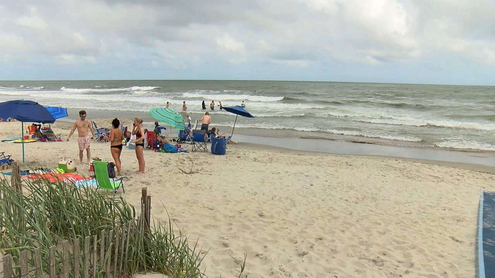 19 Year Old Surfer Wounded In Possible Shark Attack Off North Carolina Coast Abc News