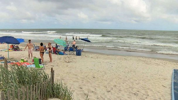 19-year-old surfer wounded in possible shark attack off North Carolina coast