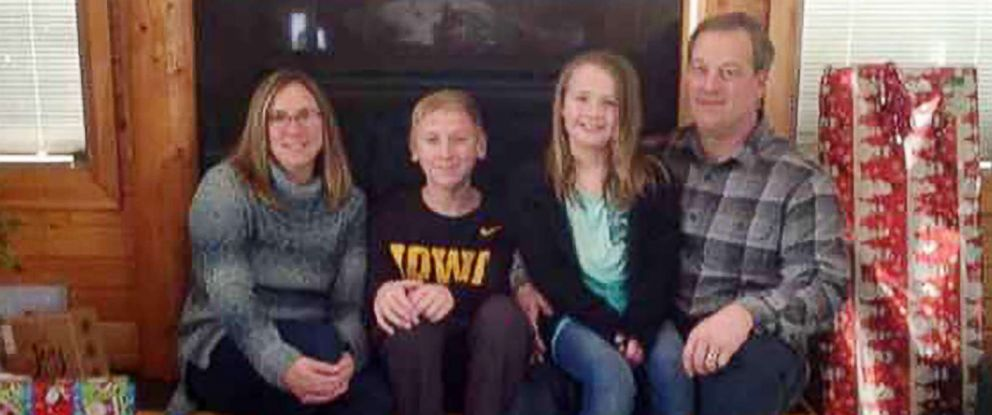 PHOTO: Kevin Wayne Sharp, 41; his wife, Amy Marie Sharp, 38; Sterling Wayne Sharp, 12; and Adrianna Marie Sharp, 7, are pictured in this undated photo posted on Facebook.
