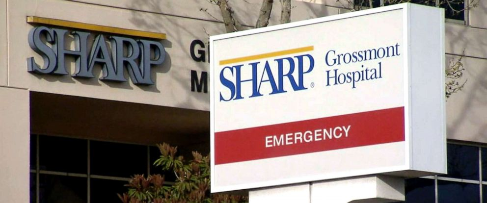 PHOTO: Sharp Grossmont is facing a new lawsuit in which at least 80 women are accusing the hospital of secretly recording their childbirths and other operations without their knowledge.
