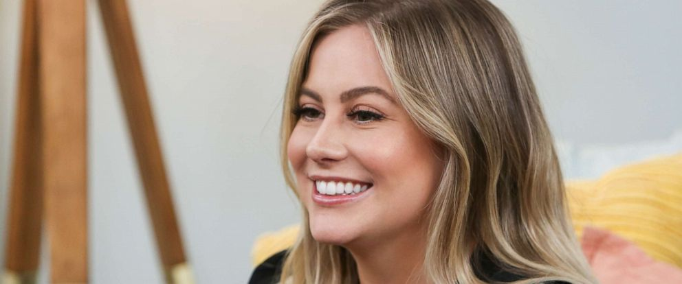 """PHOTO: Olympic gymnast Shawn Johnson visits Hallmarks """"Home & Family"""" at Universal Studios Hollywood, April 24, 2019, in Universal City, Calif."""