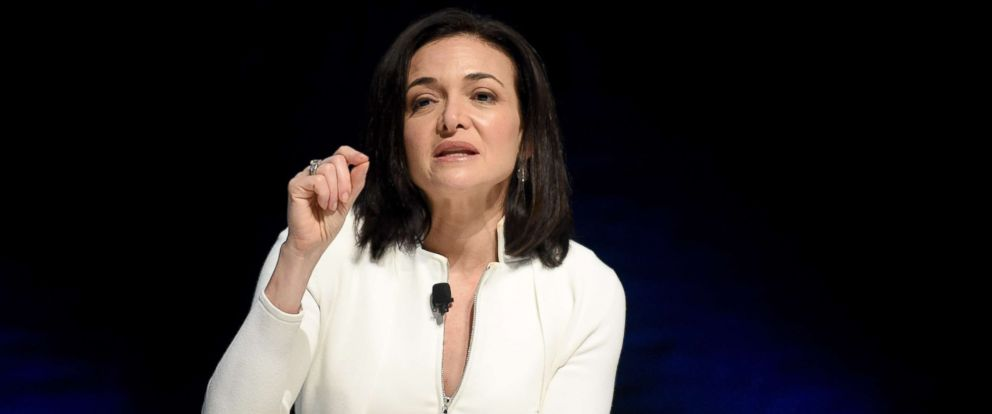 PHOTO: Chief Operating Officer of Facebook, Sheryl Sandberg, attends the Cannes Lions Festival 2017, June 22, 2017 in Cannes, France.