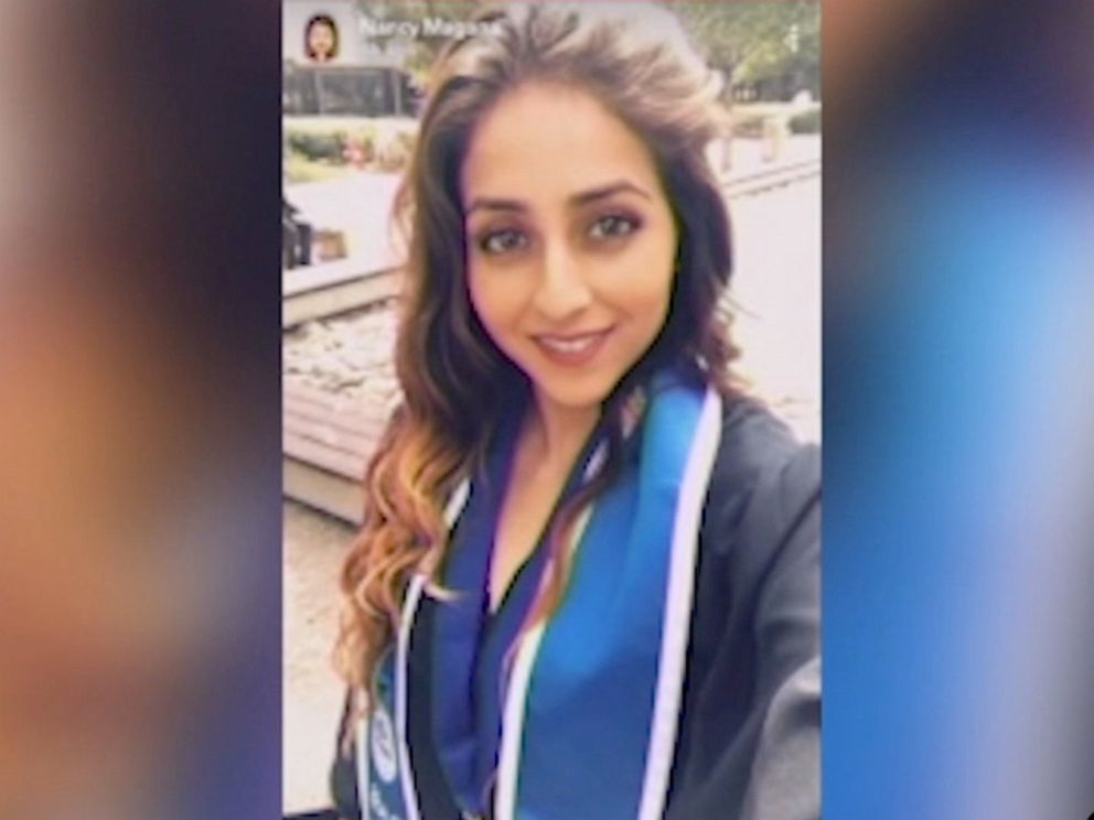 PHOTO: Nancy Magana, a 24-year-old middle school teacher in San Bernardino, California, was shot to death early Saturday while sitting in a park with her boyfriend and 5-year-old son.