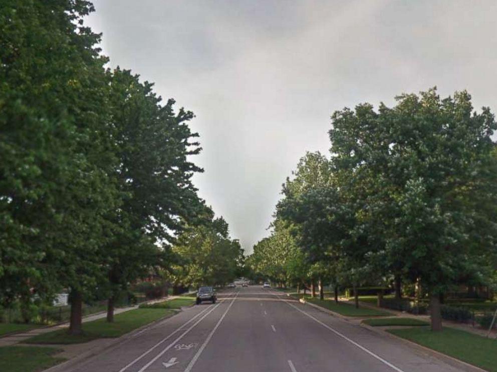 PHOTO: A Google image grab of 1200 N. Topeka Street in Wichita, Kansas.