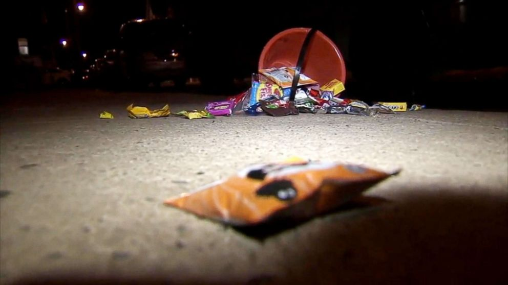 A 14-year-old girl and her 5-year-old brother were shot while trick-or-treating in Philadelphia, Oct. 31, 2018.