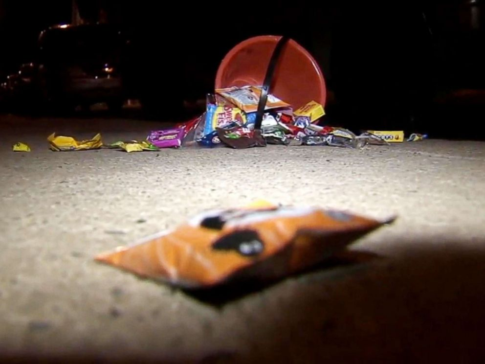 PHOTO: A 14-year-old girl and her 5-year-old brother were shot while trick-or-treating in Philadelphia, Oct. 31, 2018.