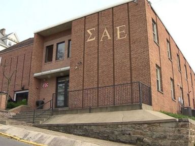Fraternity suspended after member critically injured in fall