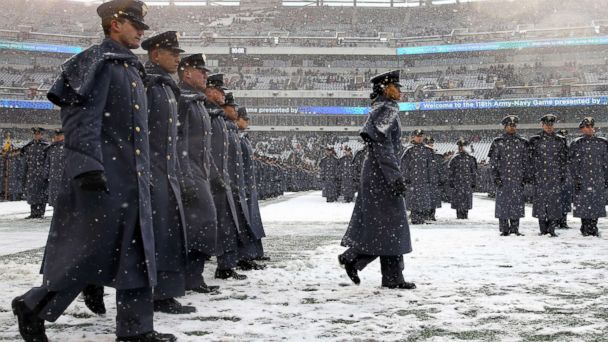 Fabled Army-Navy game has a new story: 1st African-American woman ...
