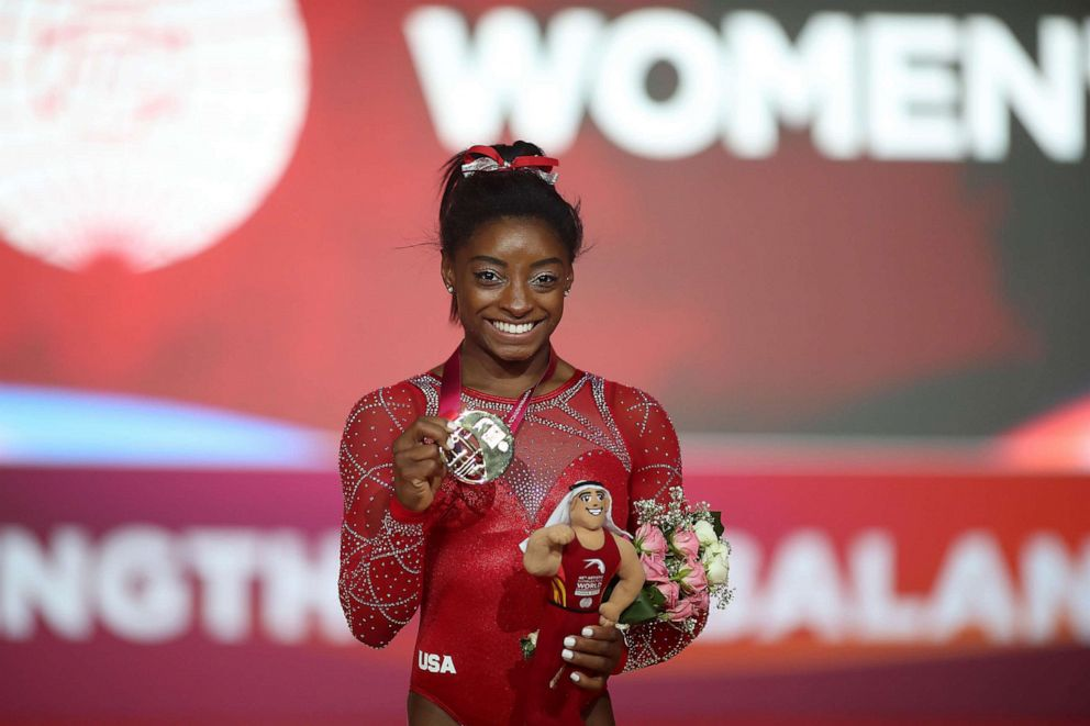 Simone Biles sends emotional tweet after brother charged in triple-homicide