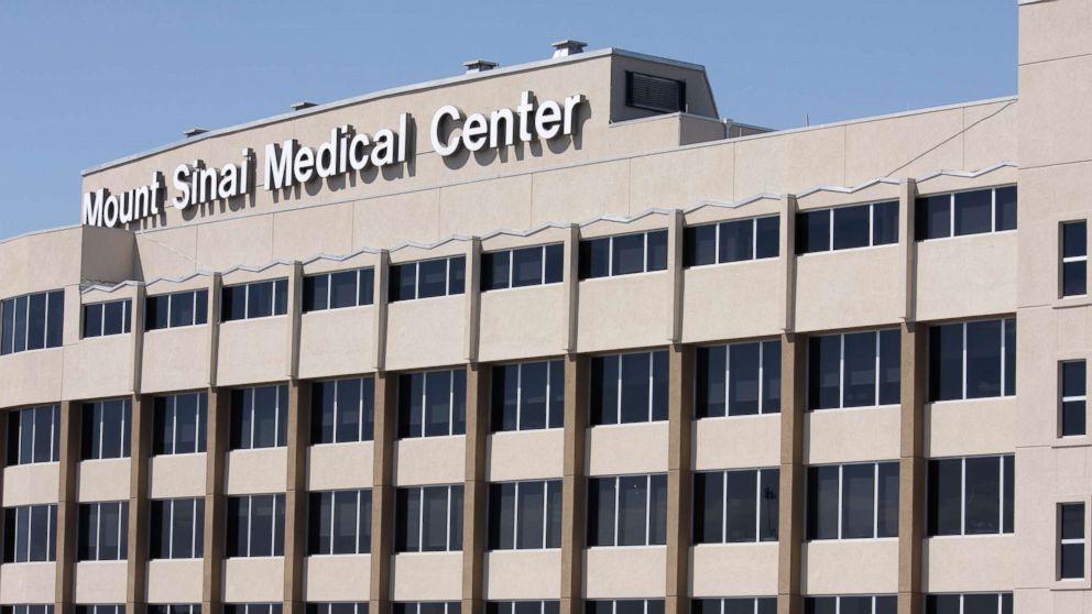 The exterior of Mount Sinai Medical Center in Miami Beach, Fla.