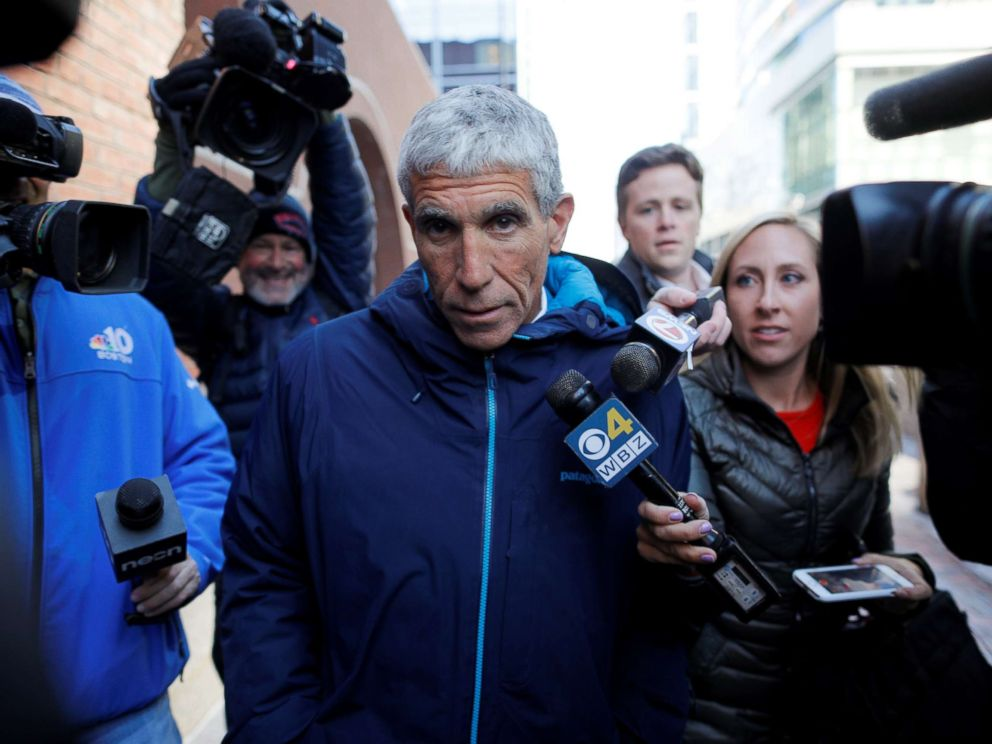 PHOTO: William Rick Singer leaves the federal courthouse after facing charges in a nationwide college admissions cheating scheme in Boston, March 12, 2019.