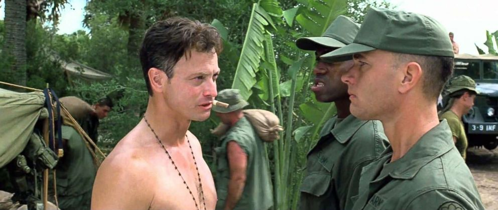 PHOTO: Gary Sinise, left, and Tom Hanks in a scene from Forrest Gump.