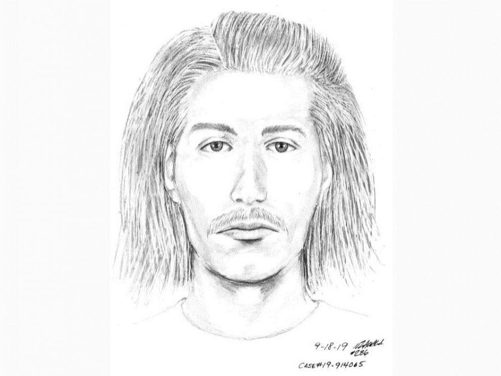 PHOTO: Police released a sketch of a suspect involved in an attack on an elderly man at a cemetery in Santa Clara, Calif., that took place Sept. 14, 2019.