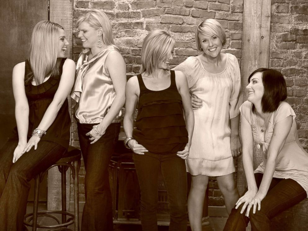 PHOTO: The five women who started a money club they called the Smart Cookies pose together.