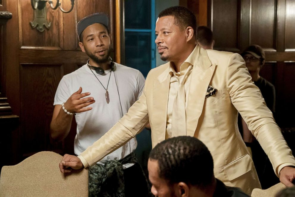 PHOTO: Jussie Smollett directs an episode of Empire in this undated photo.