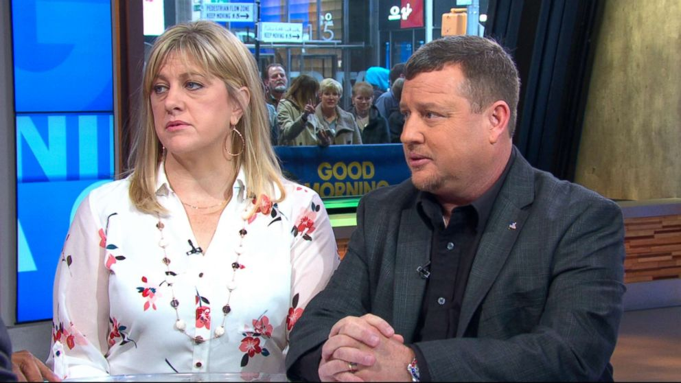 """James and Kimberly Snead spoke with """"Good Morning America"""" in the wake of last week's school shooting."""