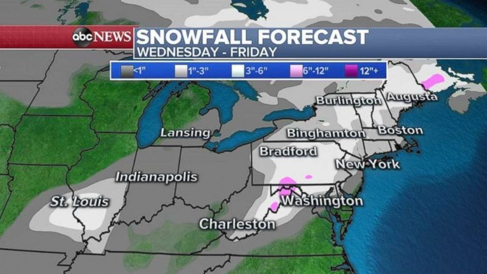 Noreaster To Bring First Snow Of Season To Major Northeast Cities