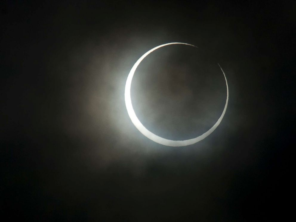 PHOTO: Solar eclipse, Japan, 2012.
