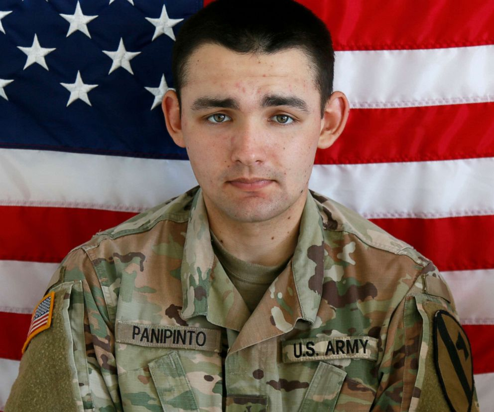 PHOTO: Spc. Nicholas C. Panipinto, 20, from Bradenton, Florida.
