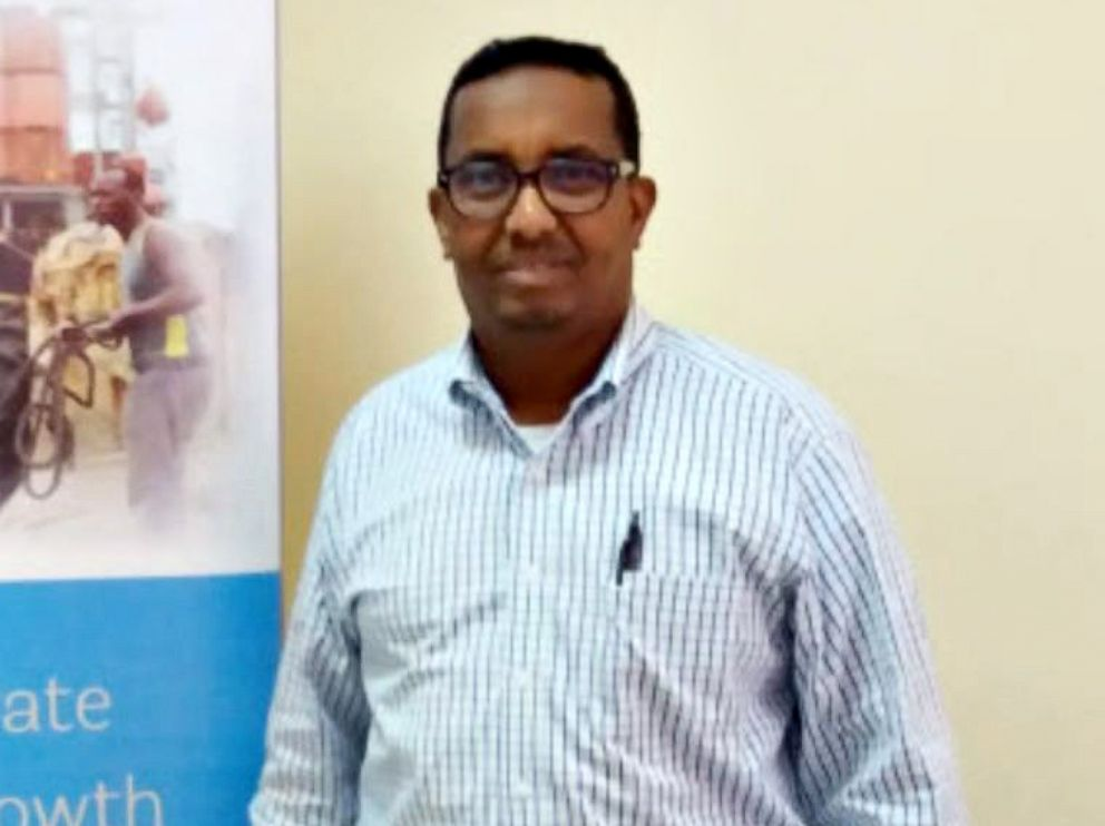 PHOTO: Ahmed Abdikarin Eyow, a father of three, was killed in a terrorist attack in Mogadishu, Somalia on Oct. 14, 2017.