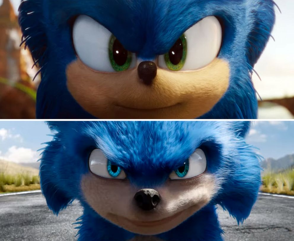 Sonic has a new look for his movie, and it's disappointingly familiar