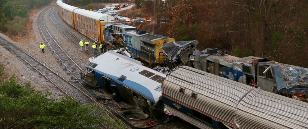 Amtrak train on wrong track in deadly crash