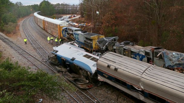South Carolina Amtrak crash is the latest in a string of accidents over the past few years