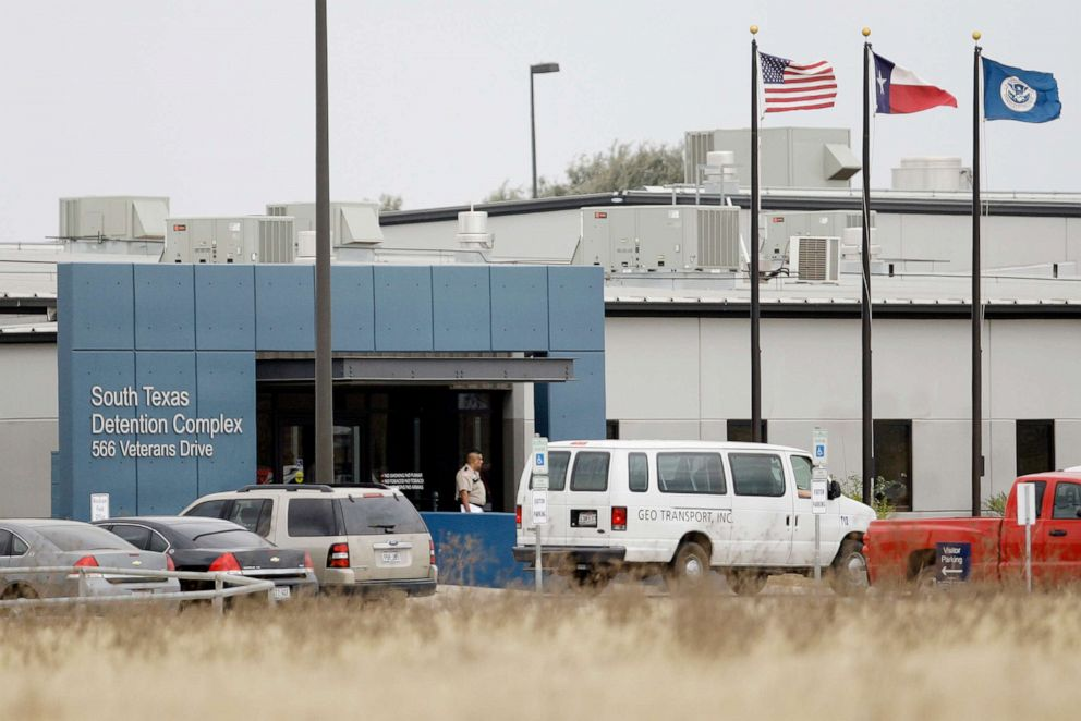 PHOTO: This Feb. 10, 2009 file photo shows the South Texas Detention Center in Pearsall, Texas.