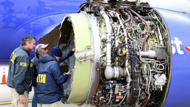 NTSB calls for redesign of Boeing 737 NG part after woman killed by Southwest engine explosion